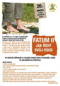 Fatum II pozvánka